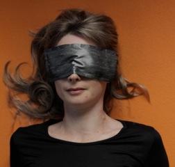 Silk blindfolds